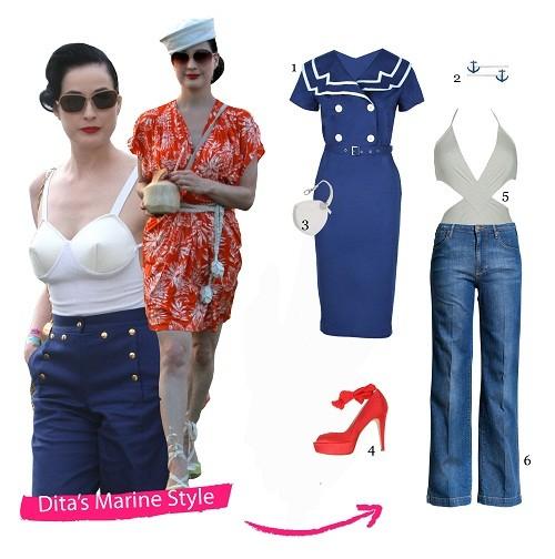 Dita's Marine-Look