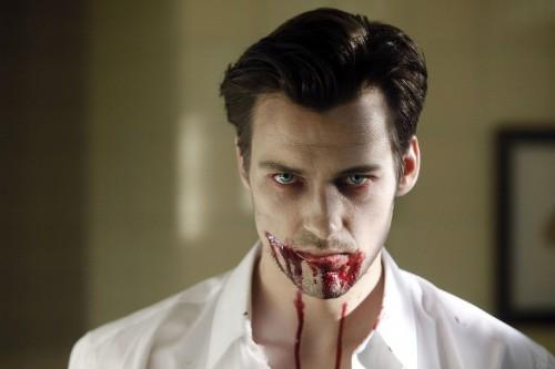 Florian David Fitz als gruseliger Vampir