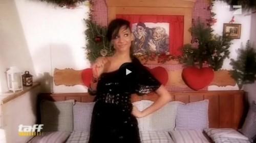 Gabby beim Weihnachtsquiz