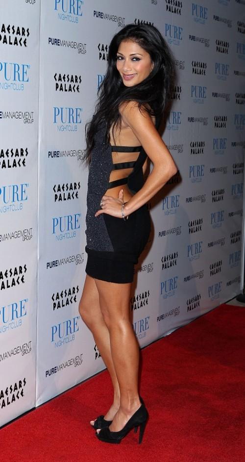 Nicole Scherzinger fühlte sich nicht immer wohl in solch sexy Outfits