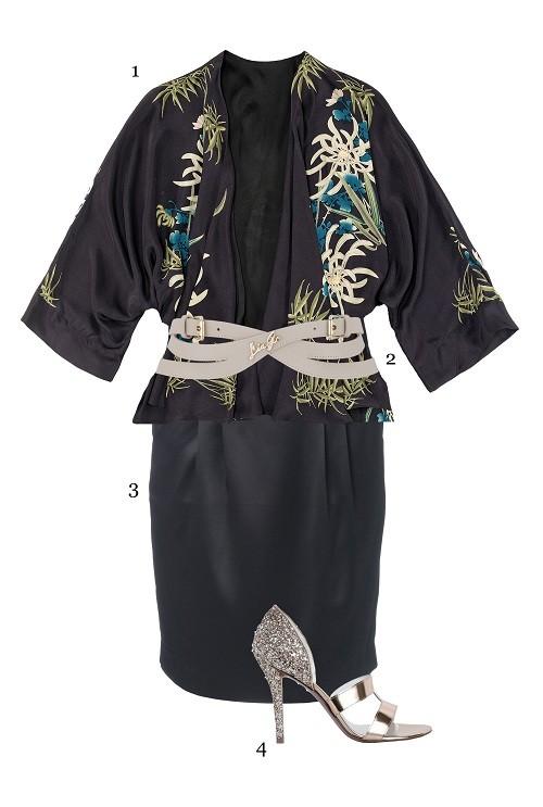 Party Style für die Komono-Jacke