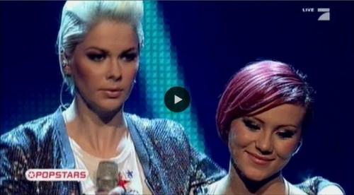 Popstars Entscheidung