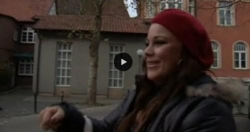 Popstars-Sarah in ihrem Heimatdorf